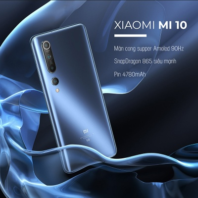 Xiaomi Mi 10 - Siêu phẩm mới