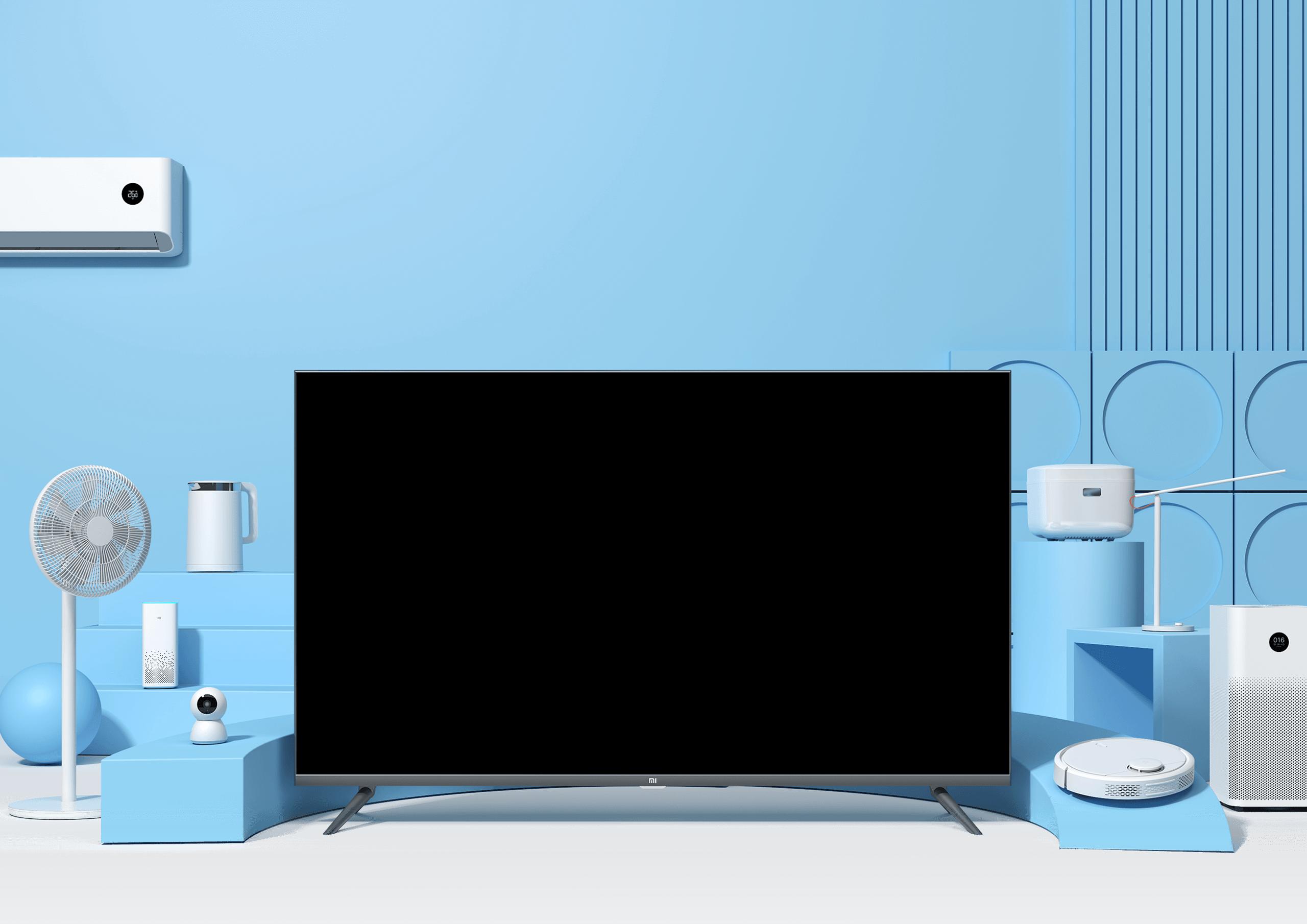 Tivi thông minh Xiaomi E65A cực sang trọng cho không gian hiện đại